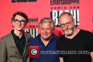 Isaac Hempstead Wright, Conleth Hill and Liam Cunningham