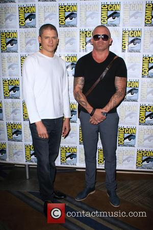 Wentworth Miller and Dominic Purcell