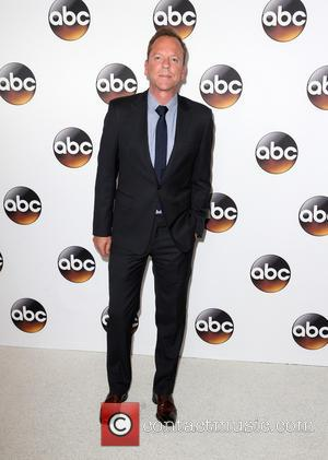 Kiefer Sutherland seen at the Disney ABC Television Group's TCA Summer Press Tour held at the Beverly Hilton Hotel -...