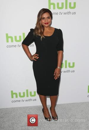 Mindy Kaling poses alone and with Matt Warburton at the 2016 Hulu TCA Summer party held at The Beverly Hilton...
