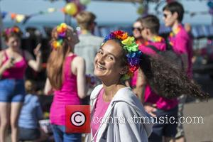 Atmosphere shots taken at the 2016 Brighton Pride Festival - United Kingdom - Saturday 6th August 2016