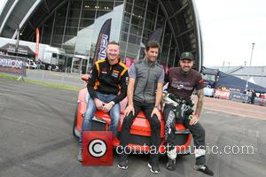 Mark Webber and Shane Lynch