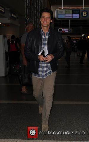Jim Carrey arrives at Los Angeles International Airport, California, United States - Monday 8th August 2016