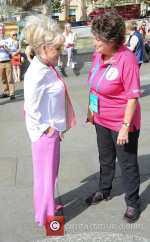 Barbara Windsor and Barbra Windosr