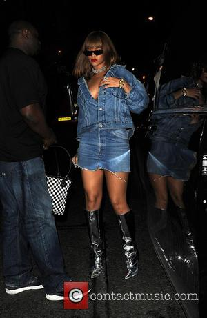 Rihanna and Justin Bieber enjoy a night out at Tape London. They were seen leaving the club at 5am. -...