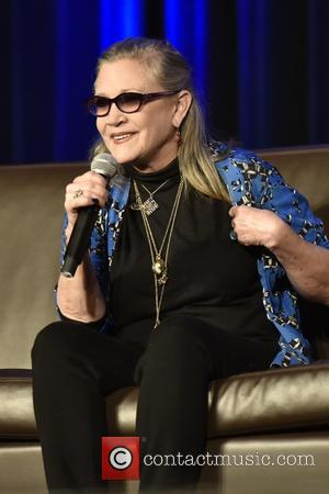 Carrie Fisher Fans' Walk Of Fame Star To Stay For Now