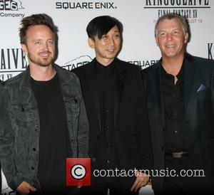 Aaron Paul, Takeshi Nozue and John Graham