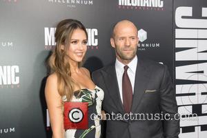 Jessica Alba and Jason Statham