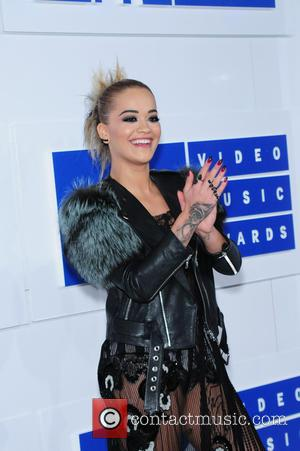 Rita Ora attending the MTV Video Music Awards 2016 held at the Madison Square Garden in New York City. United...