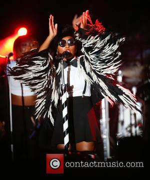 Janelle Monae performing on the second day at Afropunk Festival 2016 held at Commodore Barry Park - Brooklyn, New York,...