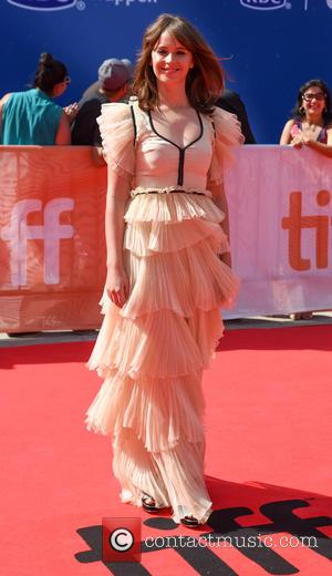Felicity Jones at the 2016 Toronto International Film Festival Premiere of 'A Monster Calls' held at Roy Thompson Hall -...