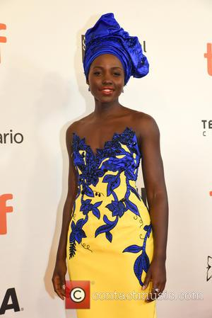 Lupita Nyongo'o at the 2016 Toronto International Film Festival Premiere of 'Queen of Katwe' held at Roy Thompson Hall -...
