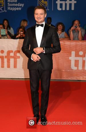 Actors including Jeremy Renner attend the premiere for 'Arrival' at the 41st annual Toronto Film Festival (TIFF) held at the...