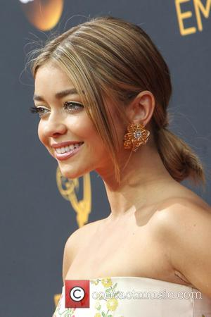 Sarah Hyland seen on the red carpet at the 68th Annual Primetime Emmy Awards held at the Microsoft Theater Los...