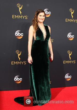 Kathryn Hahn seen on the red carpet at the 68th Annual Primetime Emmy Awards held at the Microsoft Theater Los...