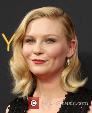 Kirsten Dunst seen on the red carpet at the 68th Annual Primetime Emmy Awards held at the Microsoft Theater Los...