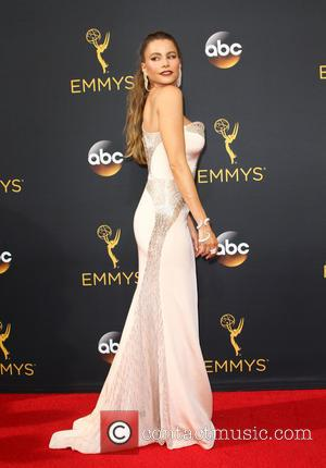 Sofia Vergara seen on the red carpet at the 68th Annual Primetime Emmy Awards held at the Microsoft Theater Los...