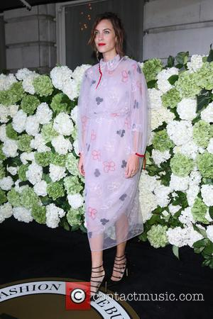 Alexa Chung arriving at the 4th Annual #BoF500 Dinner (The Business of Fashion) - London, United Kingdom - Monday 19th...