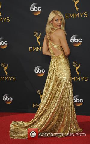 Claire Danes seen on the red carpet at the 68th Annual Primetime Emmy Awards held at the Microsoft Theater Los...