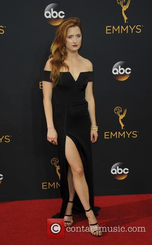 Grace Gummer seen on the red carpet at the 68th Annual Primetime Emmy Awards held at the Microsoft Theater Los...