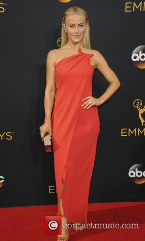 Julianne Hough seen on the red carpet at the 68th Annual Primetime Emmy Awards held at the Microsoft Theater Los...