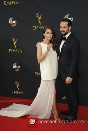 Keri Russell seen on the red carpet at the 68th Annual Primetime Emmy Awards held at the Microsoft Theater Los...