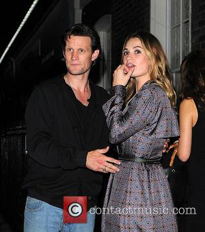 Matt Smith and Lily James