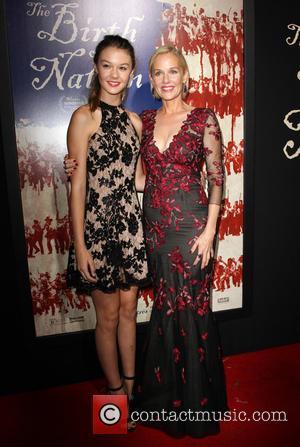 Penelope Ann Miller and Daughter Eloisa May Huggins