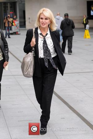 Joanna Lumley seen at the BBC Radio studios, London, United Kingdom - Wednesday 21st September 2016