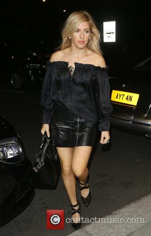 Ellie Goulding seen out having dinner in London with Princess Beatrice and Sarah Ferguson. Ellie was seen leaving with Princess...