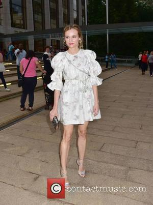 Diane Kruger at New York City Ballet Opening Night. New York, United States - Friday 23rd September 2016