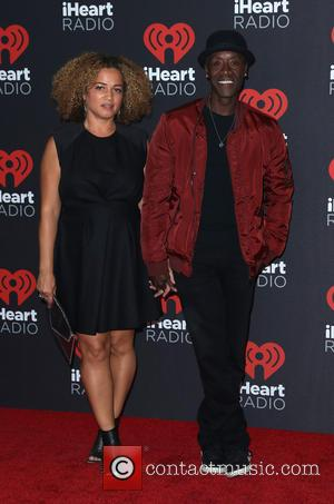 Don Cheadle seen entering the iHeartRadio Music Festival held at T-Mobile Arena in Las Vegas, Nevada, United States - Friday...