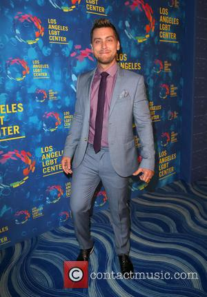 Lance Bass at the Los Angeles LGBT Center's 47th Anniversary Gala Vanguard Awards held at Pacific Design Center - West...