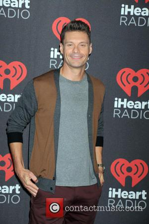 Ryan Seacrest seen entering the iHeartRadio Music Festival held at T-Mobile Arena in Las Vegas, Nevada, United States - Friday...