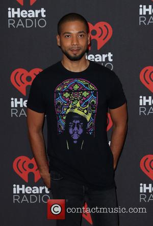 Jussie Smollett seen entering the iHeartRadio Music Festival held at T-Mobile Arena Las Vegas, Nevada, United States - Saturday 24th...