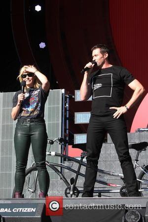 Chelsea Handler and Hugh Jackman
