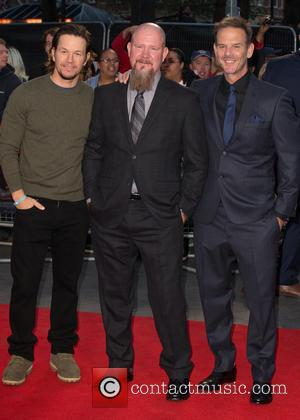Mark Wahlberg, Mike Williams and Peter Berg