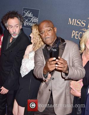 Tim Burton, Jane Goldman and Samuel L. Jackson