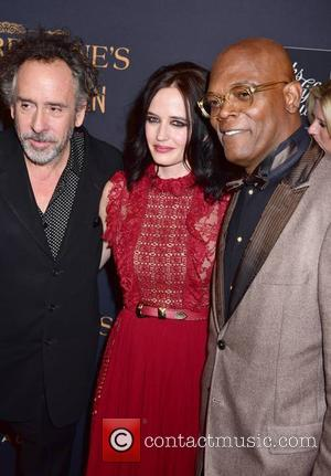 Tim Burton, Eva Green and Samuel L. Jackson