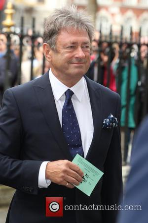 Alan Titchmarsh - Sir Terry Wogan - A Service of Thanksgiving: Guests gather to celebrate the life of broadcaster Sir...