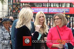 Fearne Cotton arrives at the Service of Thanksgiving for Sir Terry Wogan. Friends, Family and colleagues gather to celebrate the...