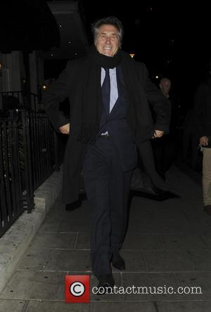 Brian Ferry seen leaving 34 Mayfair restaurant - London, United Kingdom - Wednesday 28th September 2016