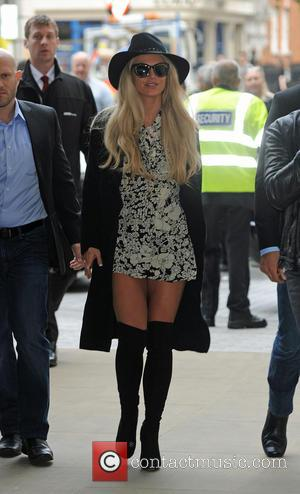 Britney Spears arrives at BBC Radio 1. The singer performed at the Apple Music Festival on Tuesday night. London, United...