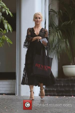 Julianne Hough seen leaving Revlon's Annual Philanthropic Luncheon held at Chateau Marmont, West Hollywood, Los Angeles, California, United States -...