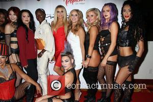 Carmen Electra and Cherry Boom Boom Cast