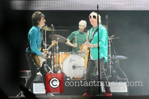 Ronnie Wood, Keith Richards and Charlie Watts