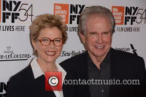 Annette Bening posing alone and with Elle Fanning, Mike Mills and Warren Beatty at the 54th New York Film Festival...