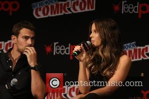 Kate Beckinsale and Theo James