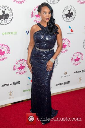 Vivica A. Fox seen on the red carpet entering the 2016 Carousel of Hope Ball, held at the Beverly Hilton...