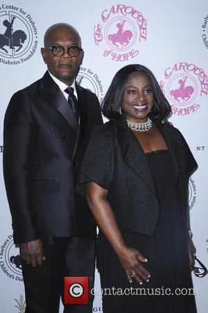 Samuel L. Jackson seen at the 2016 Carousel of Hope Ball - Los Angeles, California, United States - Sunday 9th...